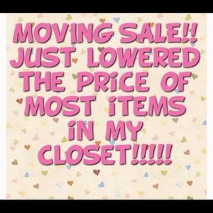 Moving sale ! Everything has to go